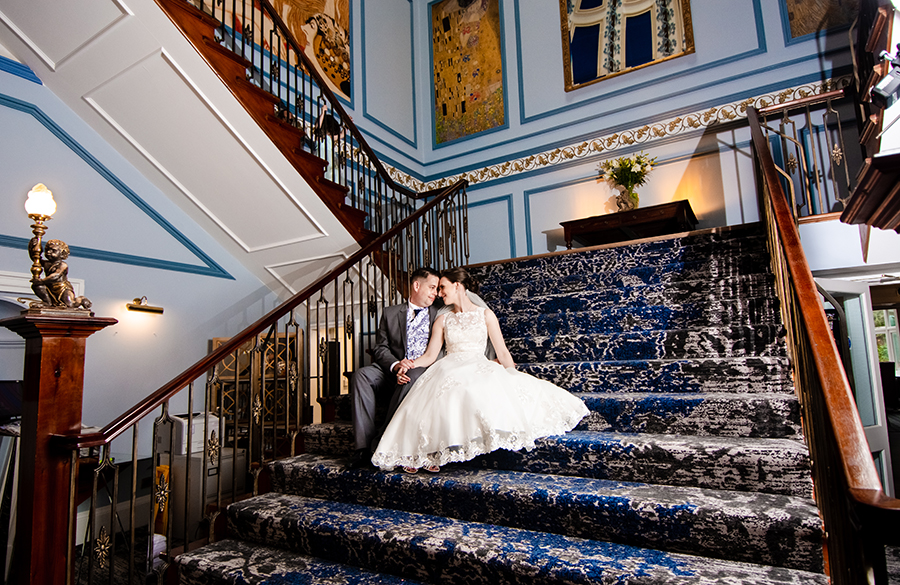 Shrigley Hall hotel wedding photographer